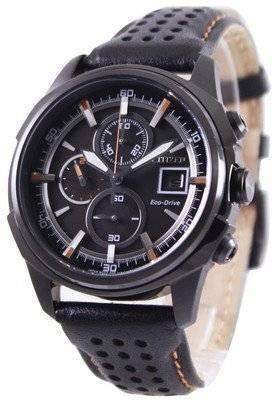 Citizen Eco Drive Leather Chronograph CA0375-00E