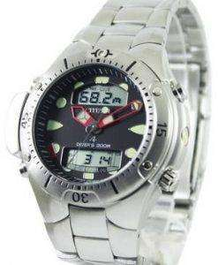 Citizen Aqualand Diver Depth Meter Promaster JP1060-52E JP1060