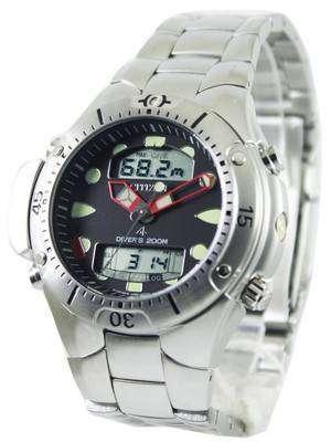 Citizen Aqualand Diver Depth Meter Promaster JP1060-52E JP1060