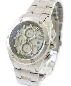 Citizen Eco-Drive Chronograph Super Titanium CA0210-51A Mens Watch