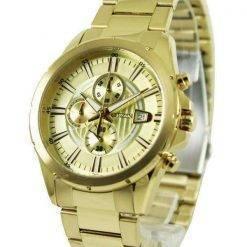 Citizen Chronograph Gold Tone AN3562-56P Men's Watch