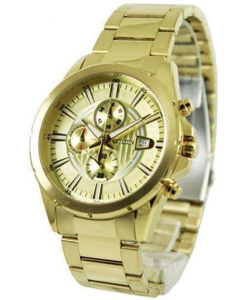 Citizen Chronograph Gold Tone AN3562-56P Men's Watch