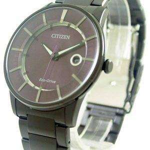 Citizen Eco-Drive Purple Dial AW1264-59W Men's Watch