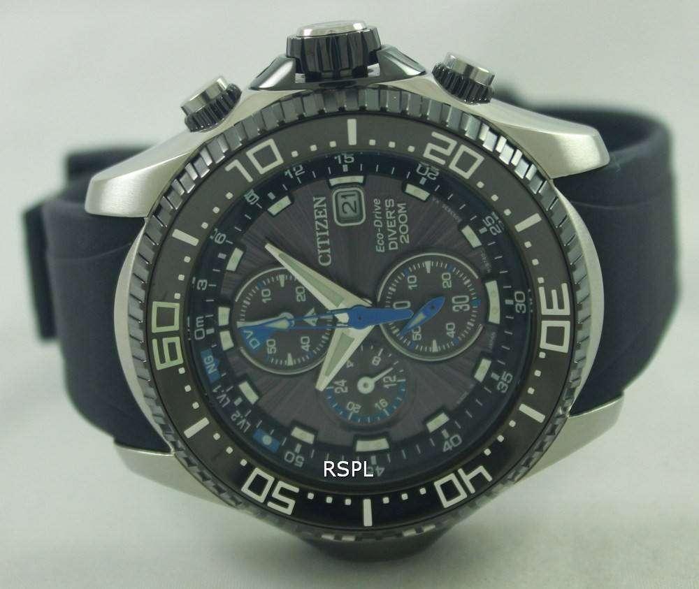 Citizen promaster eco drive aqualand chronograph divers watch bj2110 01e bj2110 01 bj2110 - Citizen promaster dive watch ...