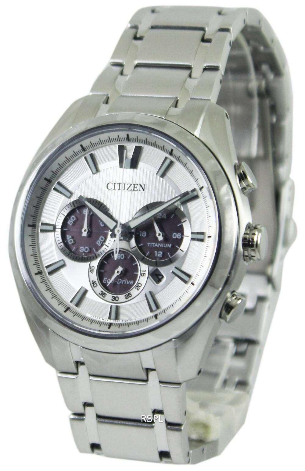 817fcba2b58 Citizen Eco-Drive Titanium Chronograph CA4010-58A Mens Watch ...