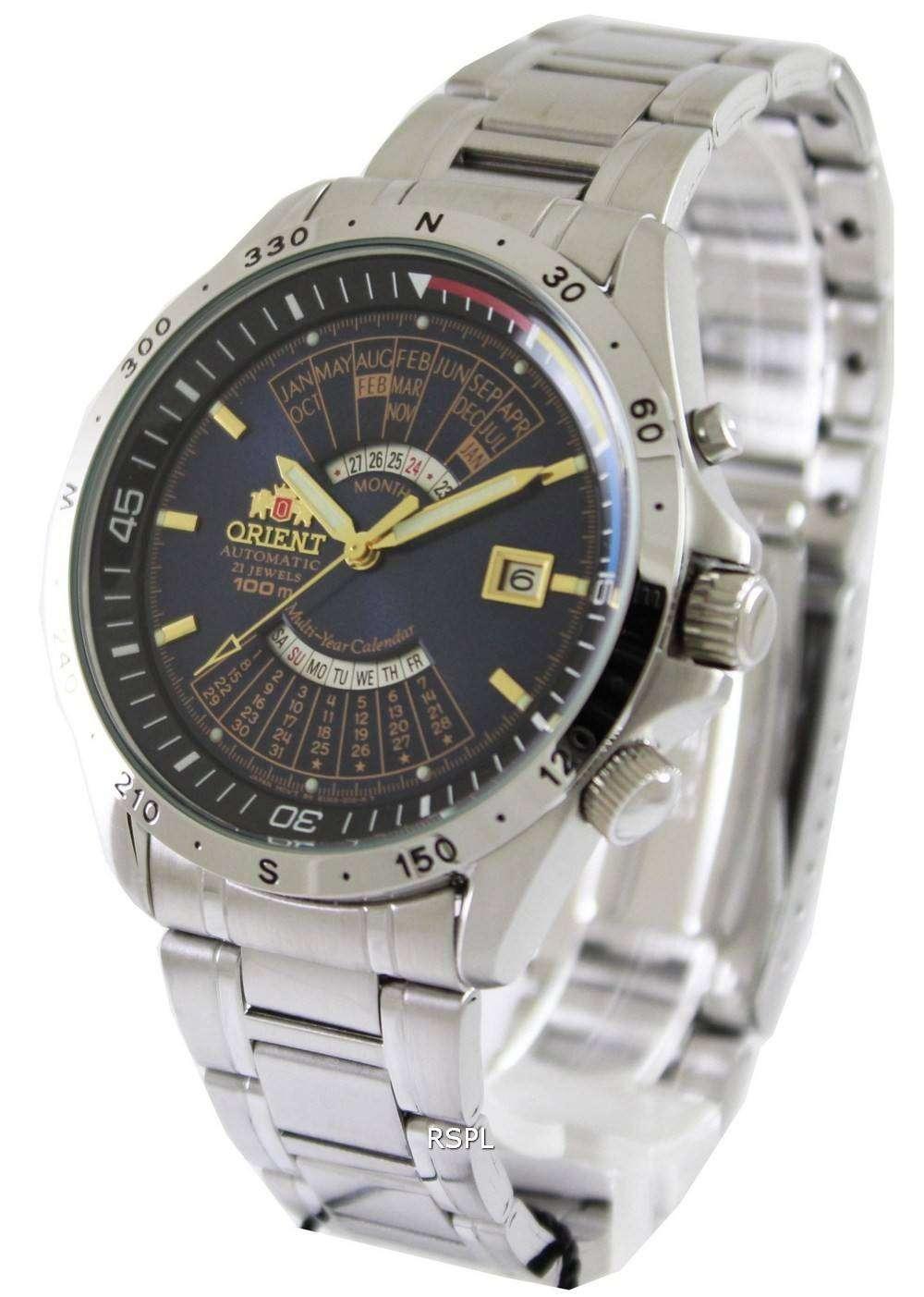 Orient 21 jewels automatic LH L469712 AAA Crystal - avitoru