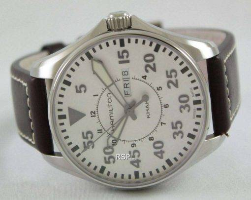 Hamilton Khaki Pilot Quartz H64611555 Mens Watch
