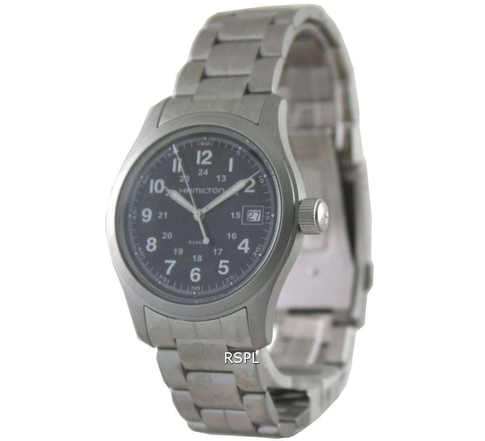 Hamilton Khaki Field Quartz H68411133 Mens Watch Zetawatches