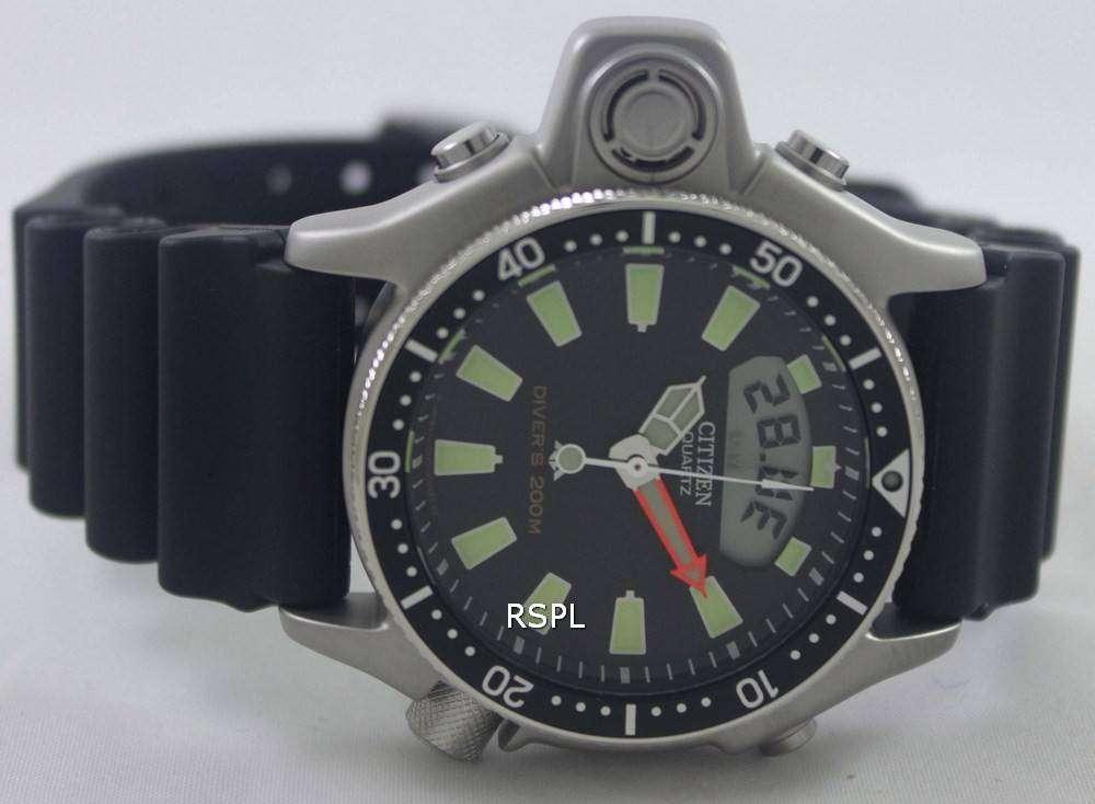 Citizen aqualand diver depth meter promaster watch jp2000 08e jp2000 zetawatches - Citizen promaster dive watch ...