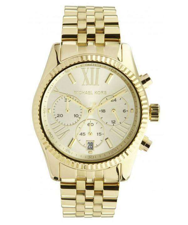 160c4f7a92c0 Michael Kors Lexington Chronograph MK5556 Womens Watch - ZetaWatches