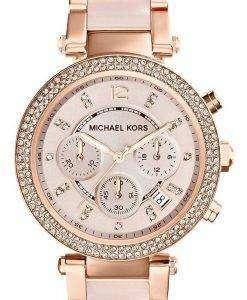Michael Kors Parker Swarovski Crystals MK5896 Womens Watch