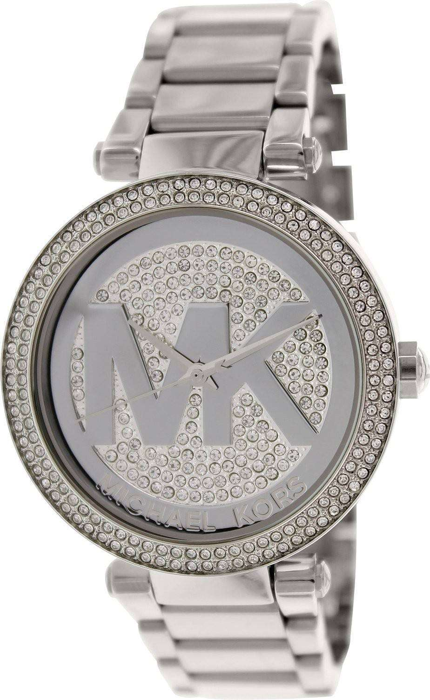 e72b747b080e Michael Kors Parker Crystal Pave Dial MK5925 Womens Watch - ZetaWatches