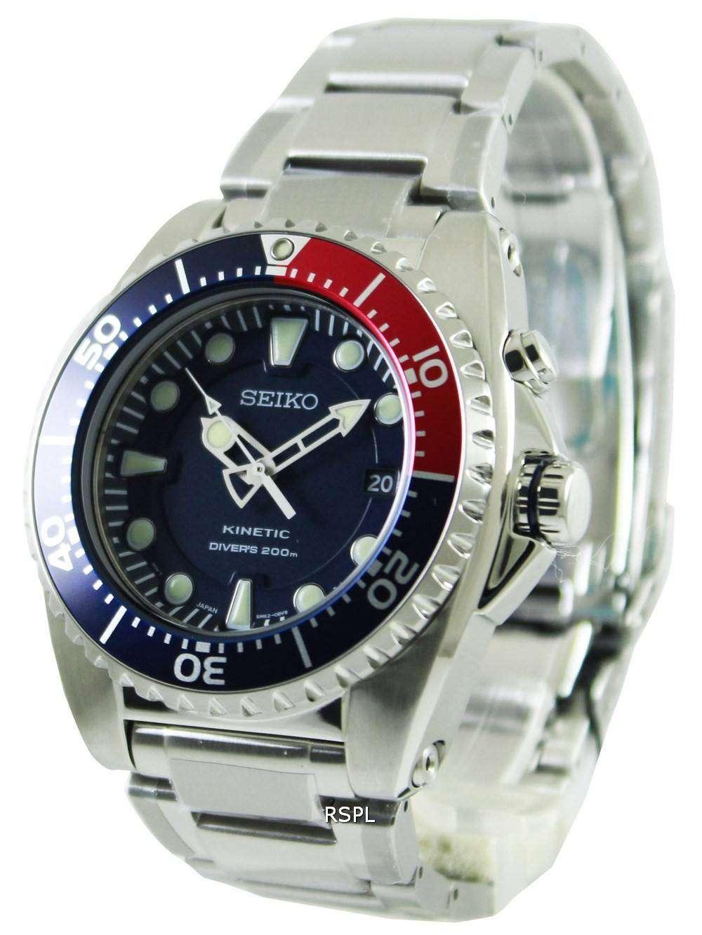 Seiko Kinetic Divers 200M SKA369P1 Watch