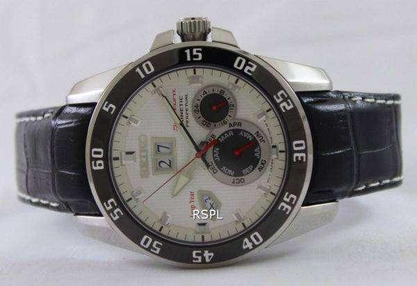 Seiko Sportura Kinetic Perpetual SNP087P1 SNP087P SNP087 Mens Watch