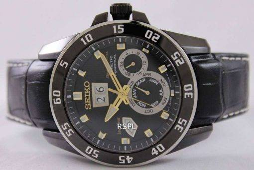 Seiko Sportura Kinetic Perpetual SNP089P1 SNP089P SNP089 Mens Watch
