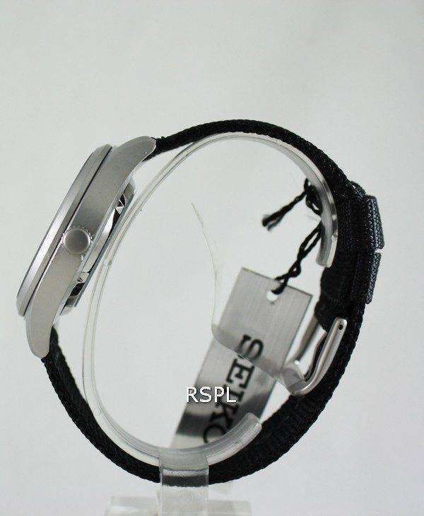 Seiko 5 Mens Automatic 100M Sports Watch New SNZG15K1 SNZG15