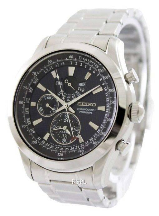 Seiko Chronograph Perpetual SPC125P1 SPC125P SPC125 Mens Watch