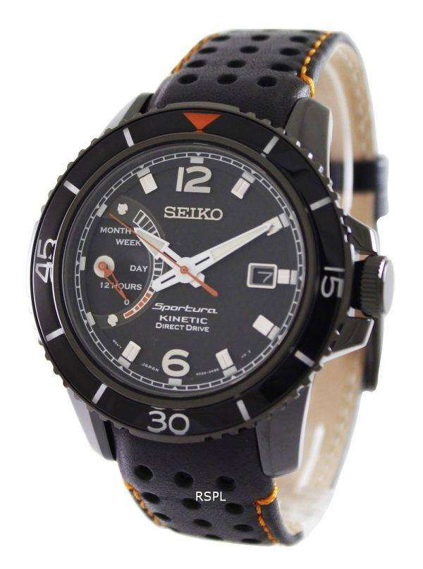 Seiko sportura kinetic direct drive srg021p1 srg021p srg021 mens watch zetawatches for Watches direct
