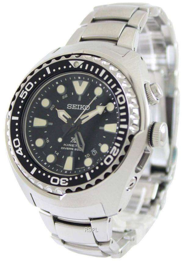 Seiko Prospex Kinetic Divers SUN019P1 SUN019P Mens Watch