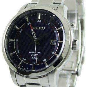 Seiko Kinetic GMT SUN031P1 SUN031P Mens Watch
