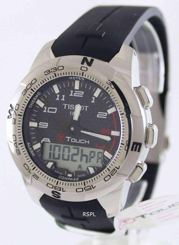 83a04d0b9b4 Tissot T-Touch II Titanium T047.420.47.207.00 Mens Watch - ZetaWatches
