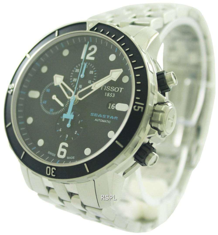 26c85132d0cb Tissot T-Sport Seastar 1000 Automatic Chronograph T066.427.11.057.00 Mens  Watch