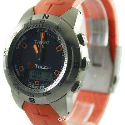 Tissot T-Touch Titanium Multifunction Chronograph T33.7.598.59 Mens Watch