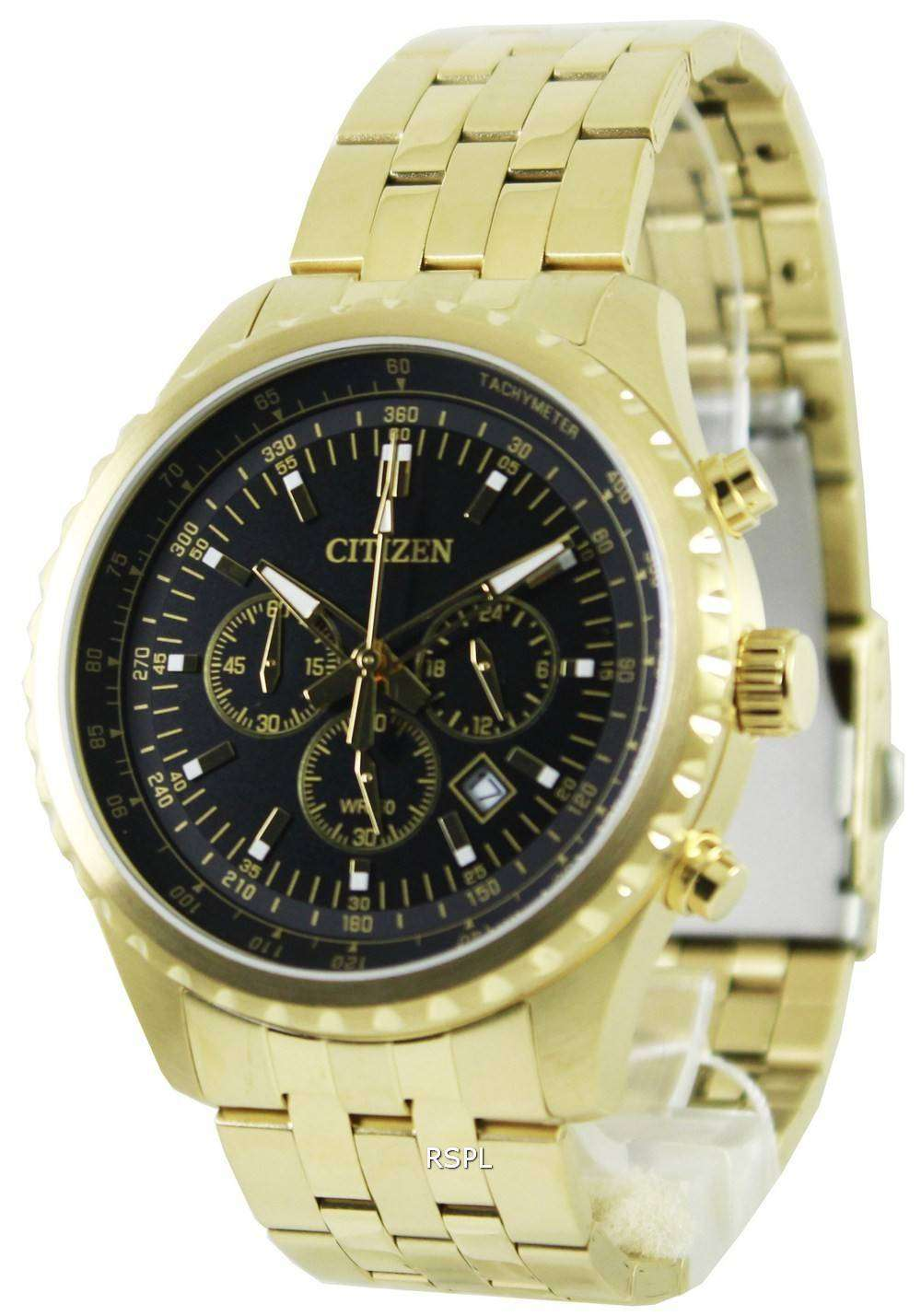 59e92158a Citizen Quartz Chronograph AN8062-51E Mens Watch - ZetaWatches