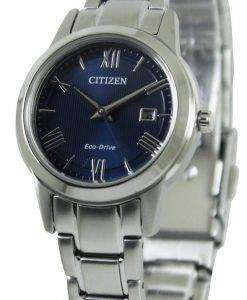 Citizen Eco-Drive Blue Dial FE1081-59L Womens Watch
