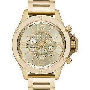 Armani Exchange Chronograph Champagne Dial AX1504 Mens Watch