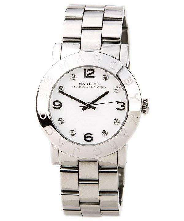 790798a2219 Marc By Marc Jacobs Amy White Dial MBM3054 Womens Watch - ZetaWatches