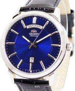Orient Classic Automatic Blue Dial FEV0U003D Mens Watch