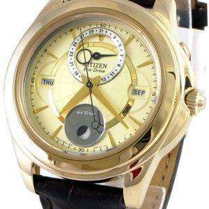Citizen Eco-Drive Calendar Moon Phase BU0003-02P Mens Watch