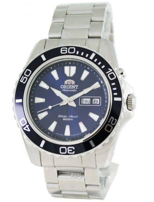 Orient Mako Automatic Power Reserve FEM75002D Mens Watch