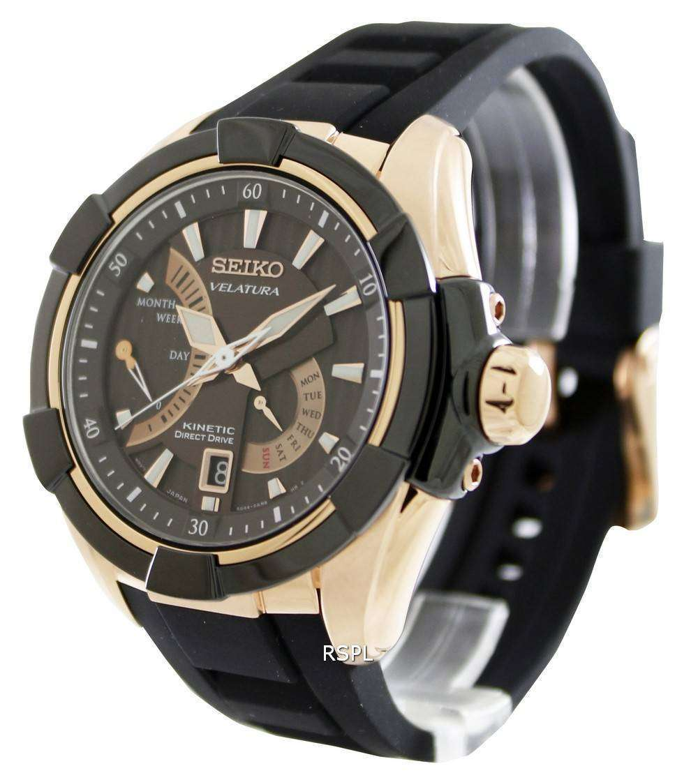 Seiko velatura kinetic direct drive srh020p1 srh020p mens watch zetawatches for Watches direct