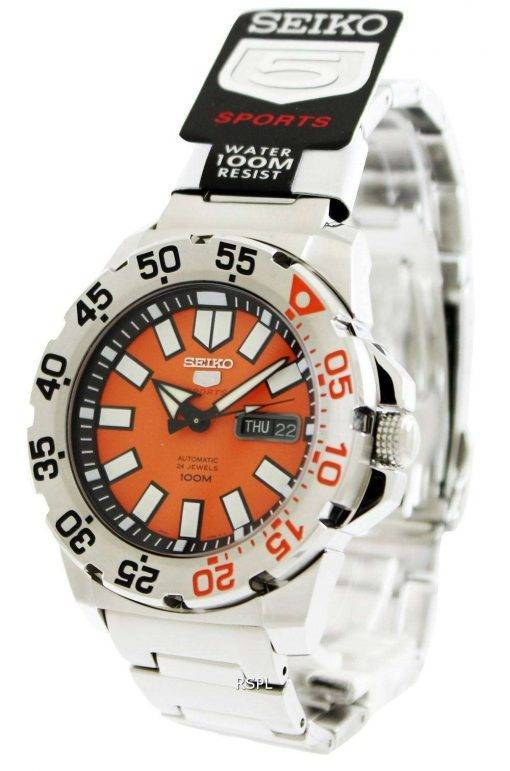 Seiko 5 Sports Automatic Monster SRP483K1 SRP483K SRP483 Mens Watch
