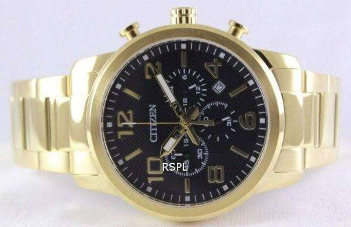 Citizen Chronograph Gold Tone AN8052-55E Men's Watch