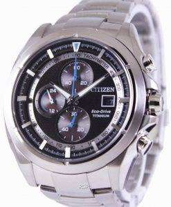 Citizen Eco-Drive Titanium Chronograph CA0550-52E Mens Watch
