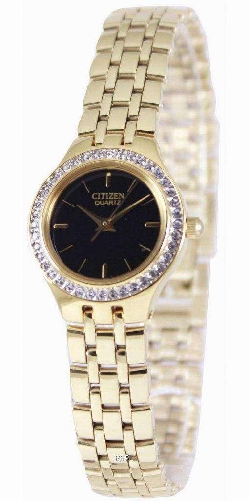 Citizen Quartz Swarovski Collection EJ6042-56E Womens Watch