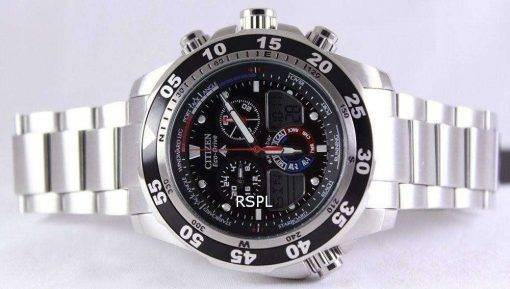 Citizen Promaster Chronograph World Time JR4045-57E