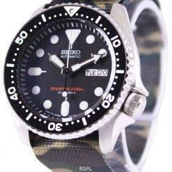 Seiko Automatic Diver's 200M Army NATO Strap SKX007J1-NATO5 Mens Watch
