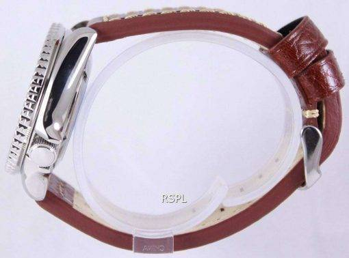 Seiko Automatic Divers Brown Leather SKX007K1-LS1 200M Mens Watch