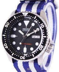 Seiko Automatic Divers 200M NATO Strap SKX007K1-NATO2 Mens Watch
