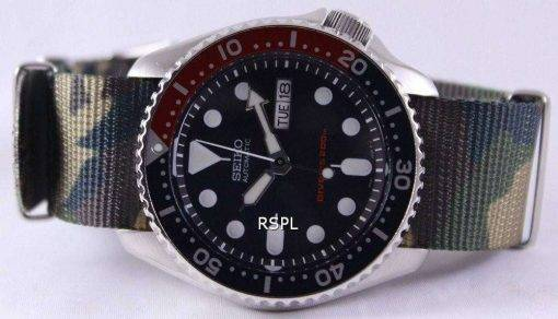 Seiko Automatic Divers 200M Army NATO Strap SKX009K1-NATO5 Mens Watch