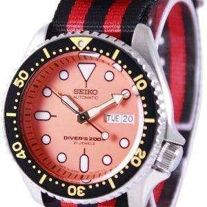 Seiko Automatic Divers 200M NATO Strap SKX011J1-NATO3 Mens Watch