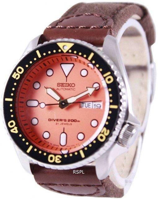 Seiko Automatic Divers Canvas Strap SKX011J1-NS1 200M Mens Watch
