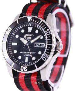 Seiko 5 Sports Automatic NATO Strap SNZF17K1-NATO3 Mens Watch