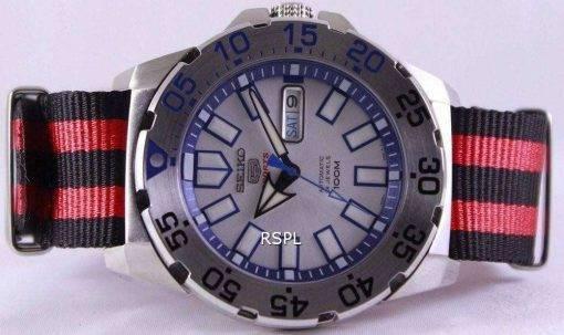 Seiko 5 Sports Automatic NATO Strap SRP481K1-NATO3 Mens Watch