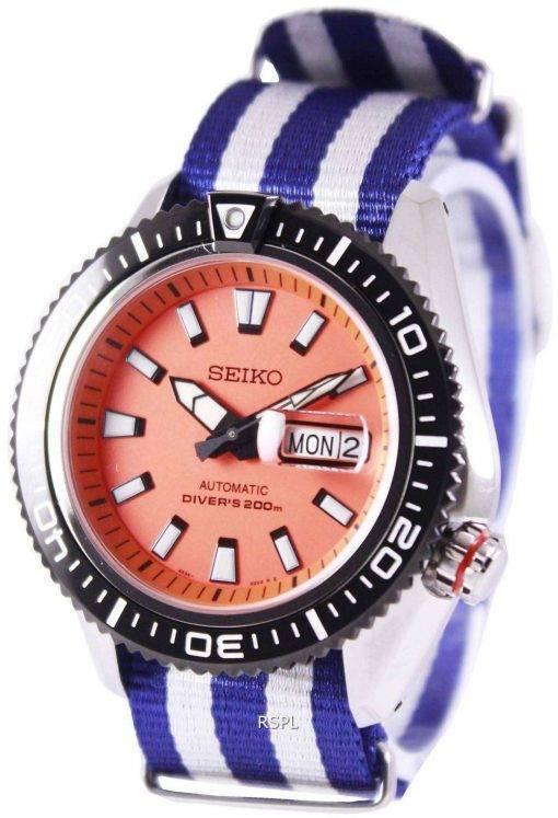 Seiko Superior Automatic Divers 200M NATO Strap SRP497K1-NATO2 Mens Watch
