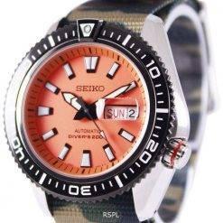 Seiko Superior Automatic Divers 200M NATO Strap SRP497K1-NATO5 Mens Watch